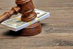 Money and Judge hammer