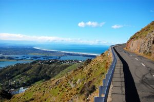 Scenic view at New Zealand