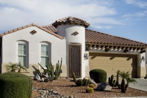 An example of a home in Phoenix, Arizona