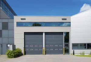 Industrial garage door