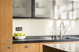 neat and well-made kitchen countertop