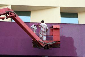 Professional exterior painter