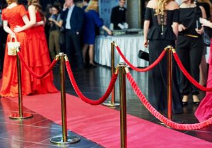 An Event with a Red Carpet
