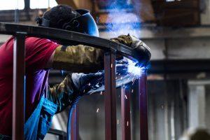 steel frame welding