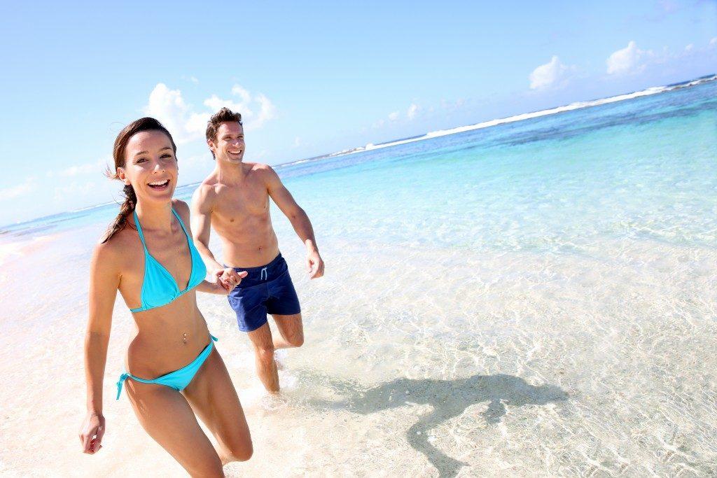 beach skin care