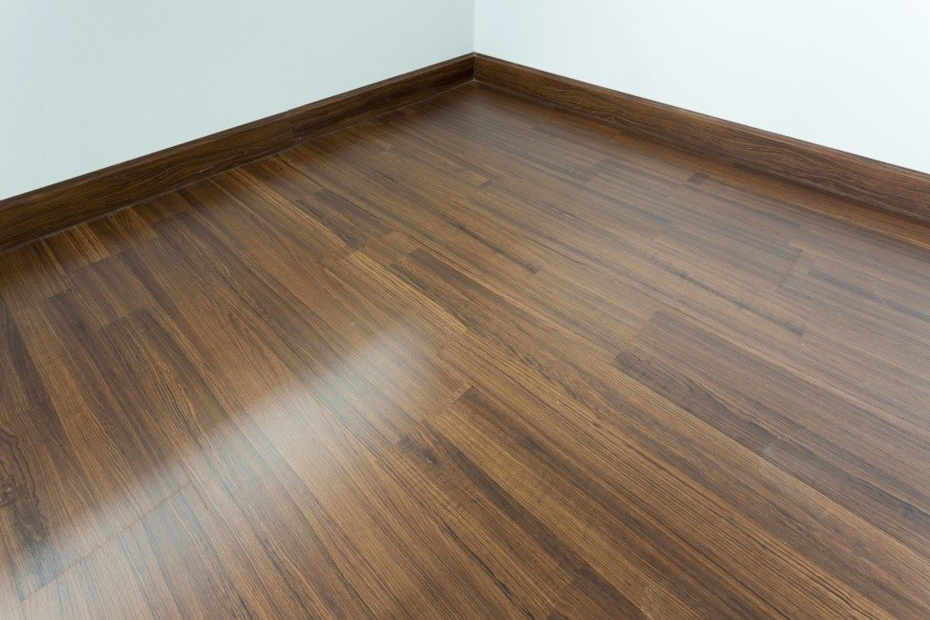 Wood laminate as stylish flooring