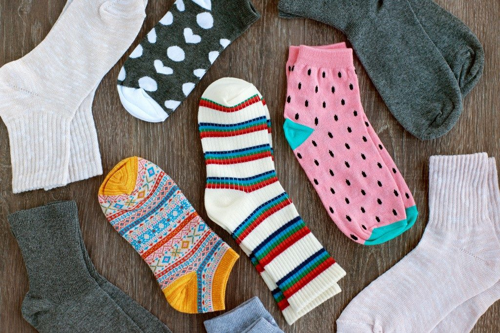 pair of kids socks