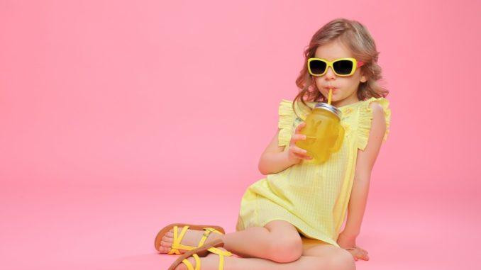 little girl looking fashionable