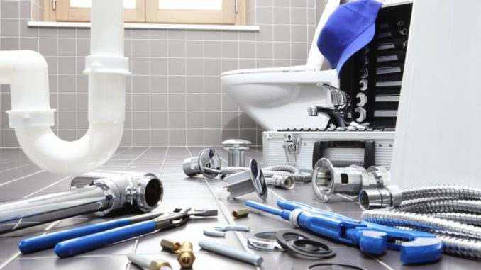 plumbing tools for the bathroom