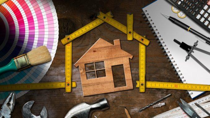 Home maintenance, concept