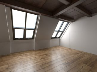 empty space in a room