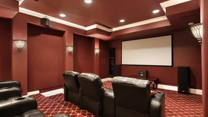 home theater with good seats