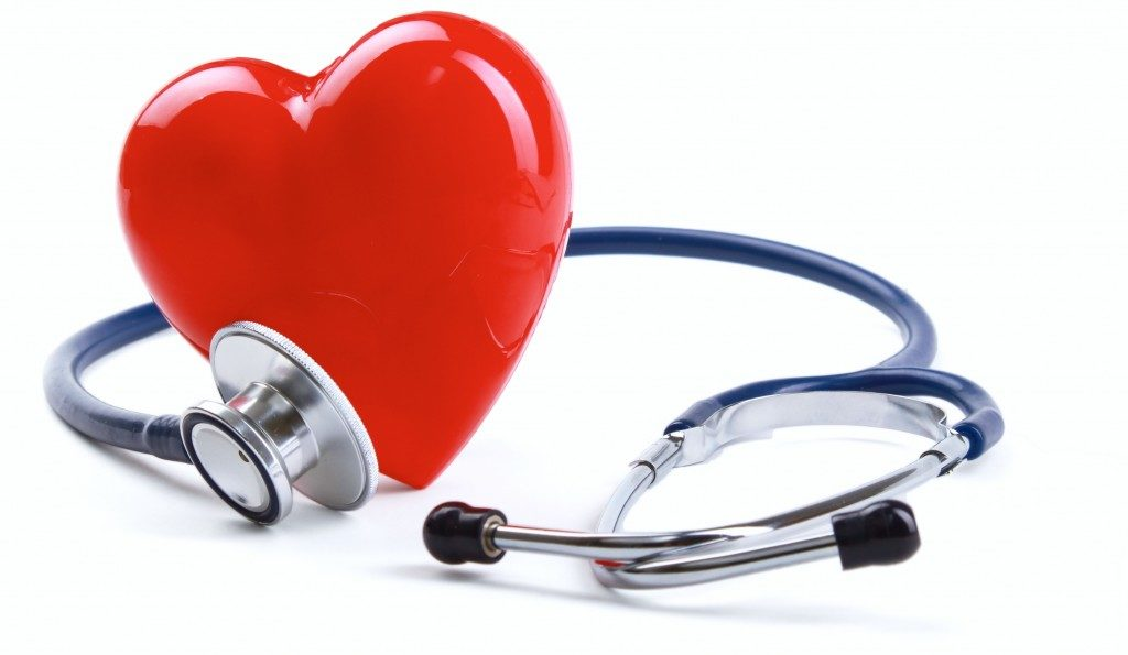 healthcare, stethoscope and heart