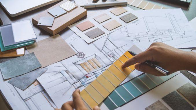 Home design sketch