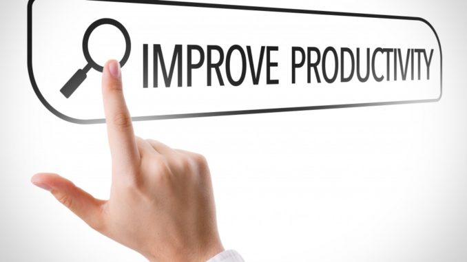 improve productivity concept