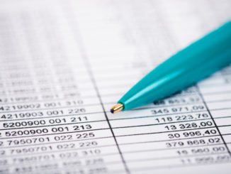 accounting sheet