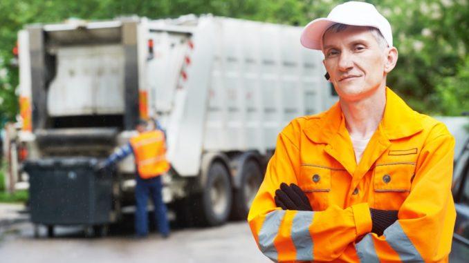 waste disposal team